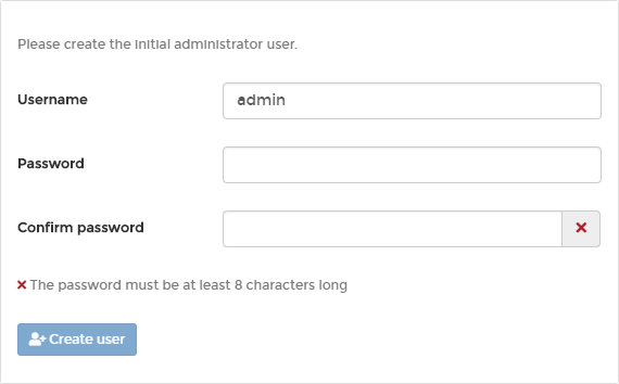 Portainer Create Admin Account